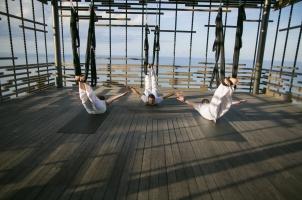 Alila Villas Uluwatu - Aerial Yoga