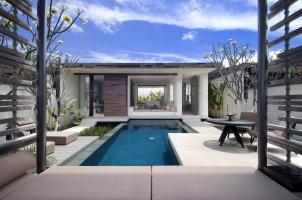 Alila Villas Uluwatu - View of 1-bedroom villa from cabana
