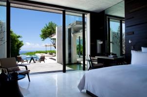 Alila Villas Uluwatu -threebedroom-bedroom