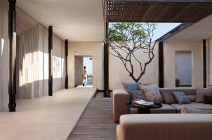 Alila Villas Uluwatu -3 bedroom entrance