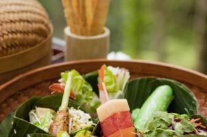 Como Shambhala Estate - Water gardens food