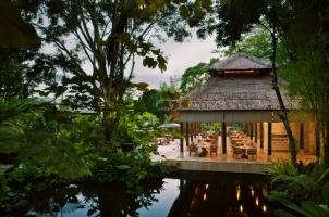 Bali COMO Uma Ubud - Restaurant