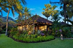 Matahari Beach Resort - MBR Deluxe Bungalow outside