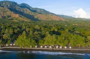 Matahari Beach Resort - panorama view