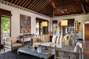 The Chedi Club Ubud - The Hadiprana Villa - living room