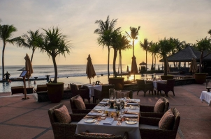The Legian Bali - Restaurant Terrace