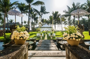 The Legian Bali - Sunset Garden Wedding