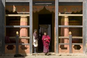 Amankora Bumthang -Jakar Dzong Doorway