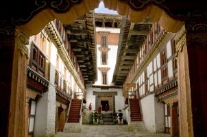 Amankora Bumthang - Jakar Dzong Exterior