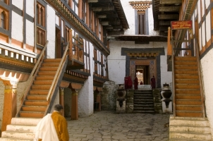 Amankora Bumthang -Jakar Dzong Exterior