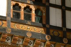 Amankora Bumthang -Jakar Dzong Window