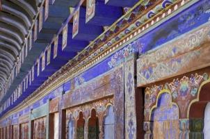 Amankora Bumthang - Wangdicholing Palace Detail