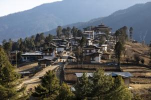 Amankora - Gangtey Dzong and Village