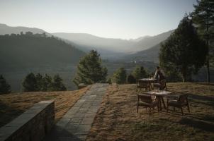 Amankora Gangtey - Valley View from Lodge