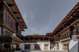 Amankora Paro - Dzong Interior