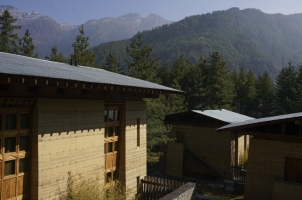 Amankora Paro - Lodge Accommodation Exterior