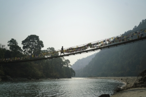 Amankora Punakha - Dzong Suspension Bridge