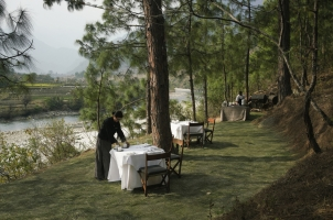 Amankora Punakha - Lodge Dining