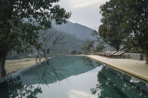 Amankora Punakha - Lodge Swimming Pool
