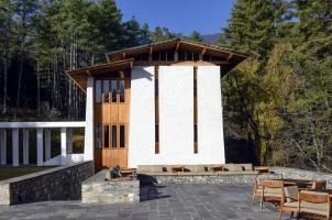 Amankora Thimphu - Lodge Exterior View