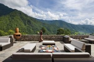 Como Punakha - Terrace