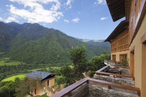 Como Punakha - View from Valley Room
