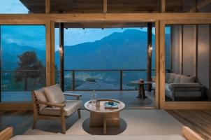 Bhutan - Six Senses Punakha - Bedroom
