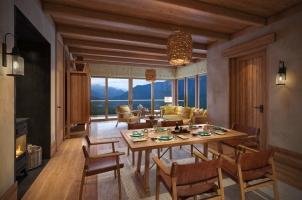 Bhutan - Six Senses Punakha - Bedroom Villa