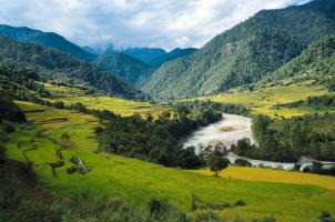 Bhutan - Six Senses Punakha - Valley