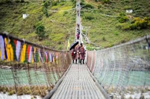 Bhutan - Six Senses Punakha - Bridge