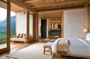 Bhutan - Six Senses Thimphu - Bedroom