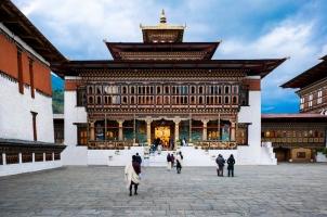Bhutan - Six Senses Thimphu - Dzong Temple