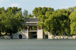 Aman Summer Palace - Mirror Bridge on Kunming Lake