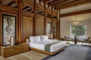 Amanyangyun - King size bedroom in villa