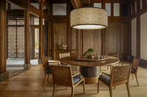 Amanyangyun - Dining area in villa