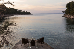 Seaside Villa Croatia - seaview