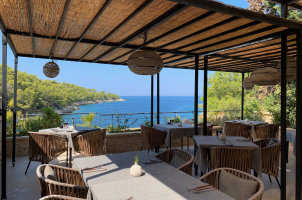 Seaside Villa Croatia - terrace view