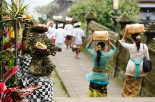 Besakih hindu temple on Bali