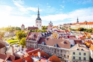 Estonia Cityscape - Tallin