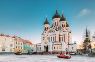 Estonia - Alecander Nevsky Cathedral Tallinn