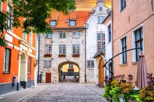 Street in old Riga