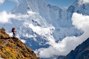 Bhutan - Hiking in Himalaya mountains