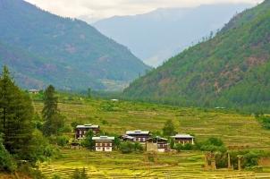 Bhutan - Paro Valley