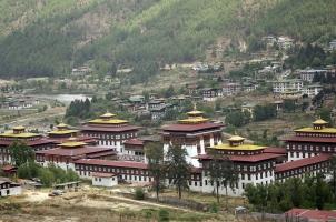 Bhutan - Dzong Thimphu