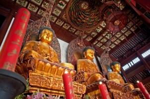 China - 3 Buddhas Shanghai