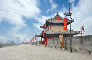 China - City Wall Xian