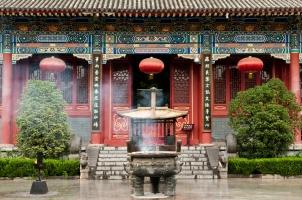 China - Historic Temple Shaanxi