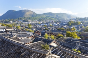China - Lijiang Rooftops