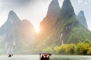 China - Yu Long River Mountain Yangshuo