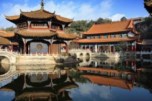 China - Courtyard Yuantong Temple